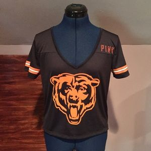 PINK VS NFL Chicago Bears Jersey